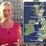 BBC weather forecast: Carol Kirkwood predicts rain across south-west England | TV & Radio | Showbiz & TV