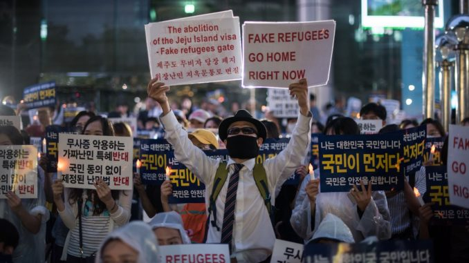 South Korea Is Going Crazy Over a Handful of Refugees – Foreign Policy
