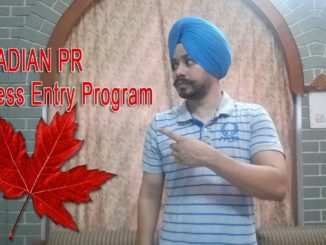 Canadian PR through Express Entry Program
