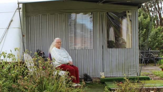 Marion Carpenter says she is happy with her home and doesn