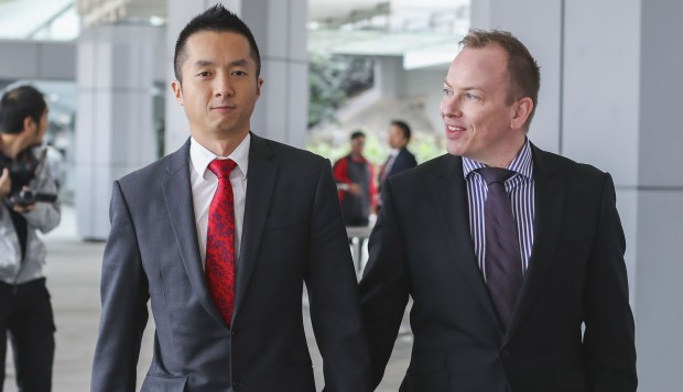 Gay civil servant will take case to Hong Kong's top court in final bid to win spousal benefits for husband