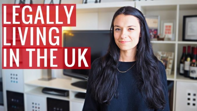 How I Live + Work in the UK (Legally)