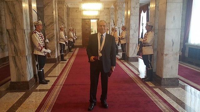 Israeli author receives prestigious Bulgarian award