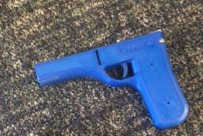 Police seize 3D printed weapons during raid