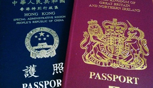 What is a British National (Overseas) passport and what is a holder entitled to?