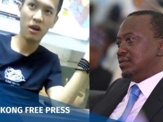 Chinese man faces deportation from Kenya after calling president Uhuru Kenyatta a 'monkey'