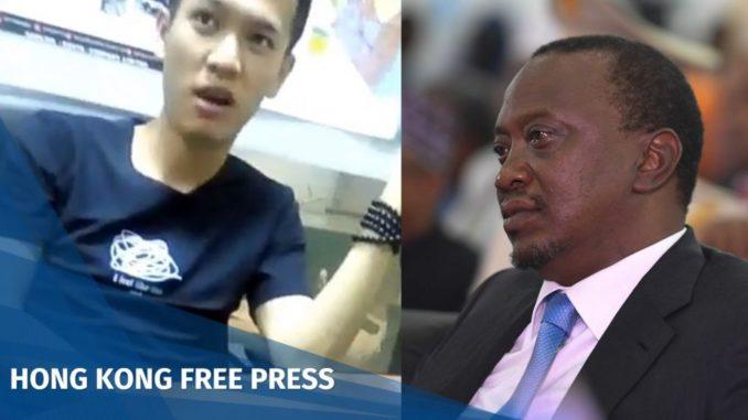 Chinese man faces deportation from Kenya after calling president Uhuru Kenyatta a 'monkey'