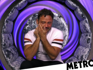 Celebrity Big Brother's Ryan breaks down over Roxanne accusations