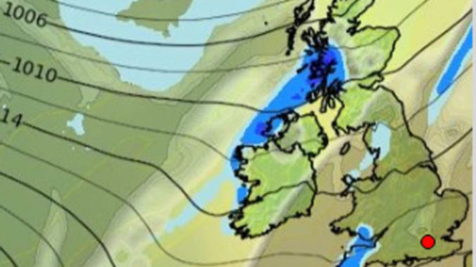 UK weather forecast: Grey skies and rain make MISERABLE and GLOOMY day for Britain