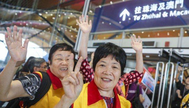 Hong Kong-Zhuhai-Macau Bridge passes first real test as it opens to Pearl River Delta traffic