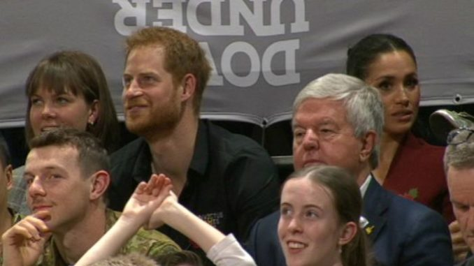 Meghan Markle and Prince Harry join David Beckham at Invictus Games wheelchair basketball final - Invictus Games
