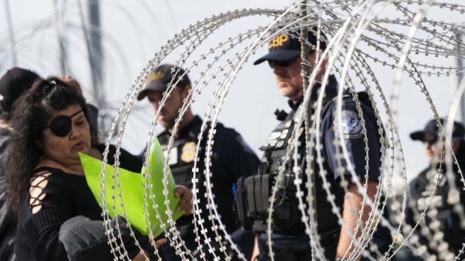 Fact check on criminal claim, size and asylum process