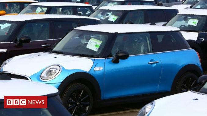 UK car production tumbles in November