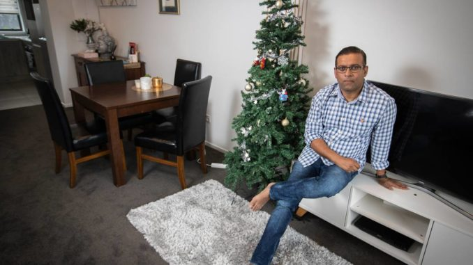 New Year's reunion for family who missed out on Christmas because of visa delay