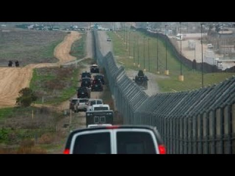 Immigration arrests at US-Mexico border decline for a second month