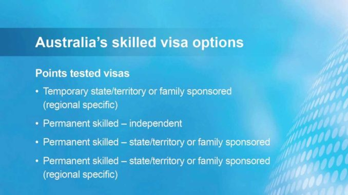 Australia's Skilled Migration Program