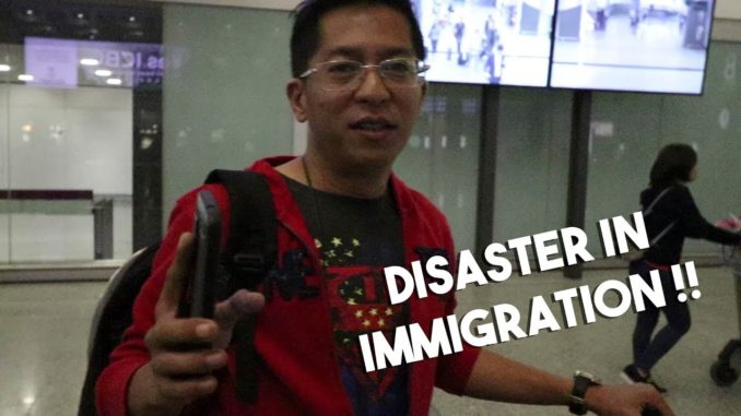 Disaster in Immigration (Hong Kong Edition)
