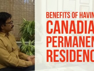 What benefits a Canadian PR holder gets?