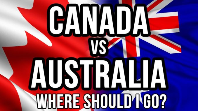 Canada vs Australia: Where should I go?