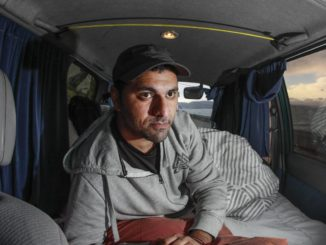 Former Palestinian refugee says he's been forced to live in a van since arriving in New Zealand