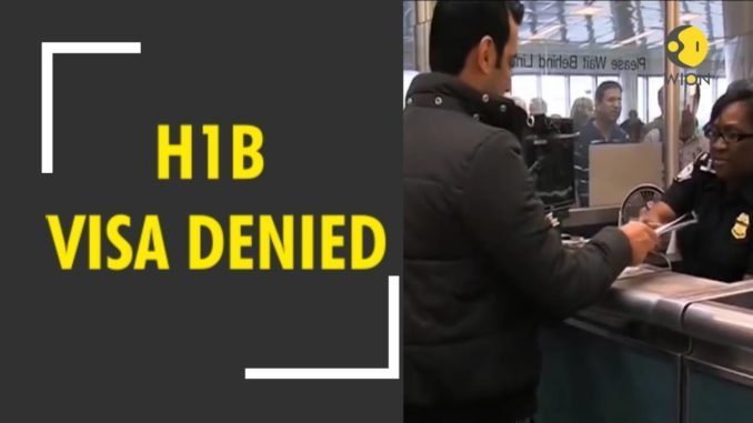 Significant rise in denial of Indian H1B visa petitions