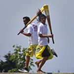Samoa's lively version of cricket turns Jefferson Park into 'a little piece of home'