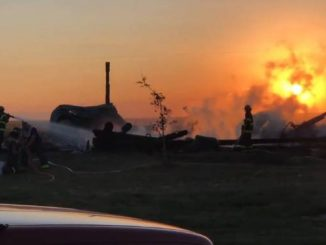 Fire devastates Alberta fish farm
