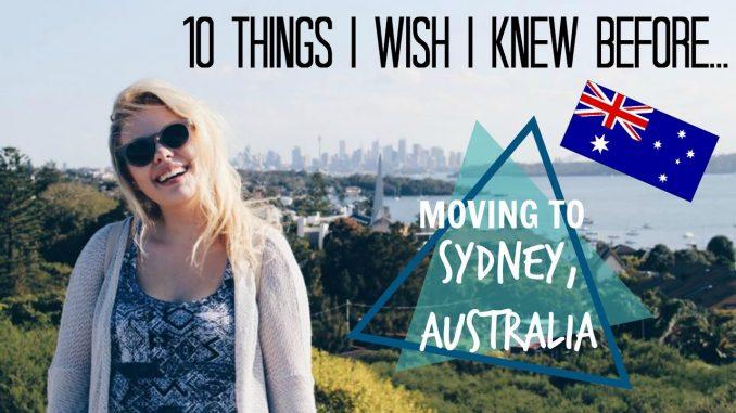 10 Things I Wish I Knew Before...Moving to Australia   Elisabeth Beemer