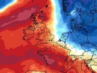 UK weather forecast MAP: Britain blazing red as scorching 80F heatwave hits this weekend | Weather | News