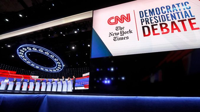 CNN fails to draw viewers as Dem debate ratings sink to new low for 2019