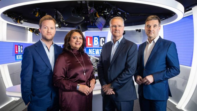 LBC Launches UK's First 24-Hour National Rolling News Radio Station - LBC News
