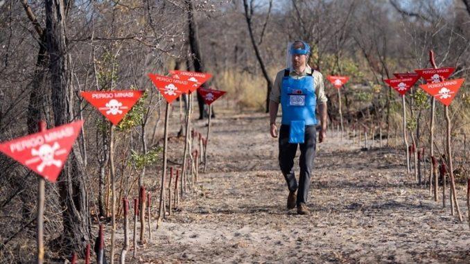 UK matches Zimbabwe landmine fund after Prince Harry tour