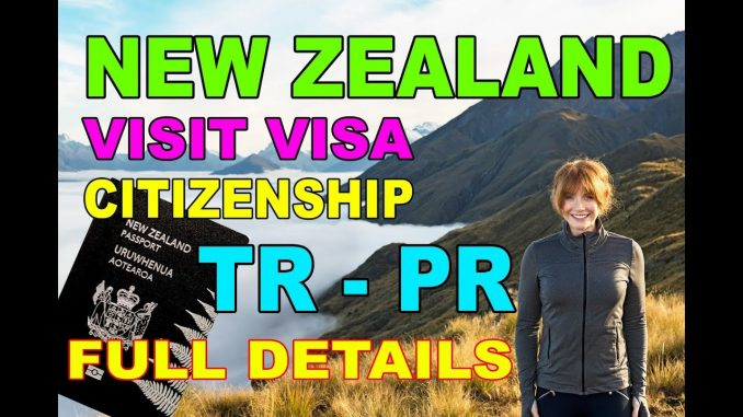 How To Apply New Zealand Visit Visa [Citizenship] [TR - PR] Urdu/Hindi 2018 Premier Visa Consultancy