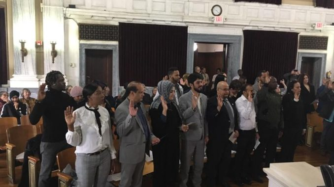 New citizens take Oath of Allegiance at Trenton City Hall (L.A. PARKER COLUMN) | News