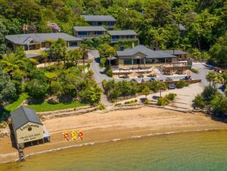 Award-winning eco-lodge for sale in Queen Charlotte Sound
