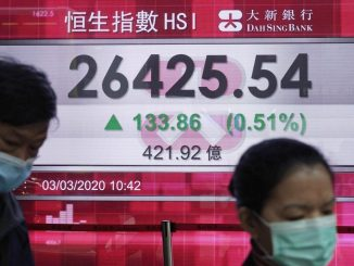 Tokyo falls back, other Asian markets track Wall St gains