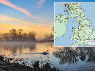 UK weather forecast – Britain to shiver in 11C Easter Monday chill after balmy 25C weekend – The Sun