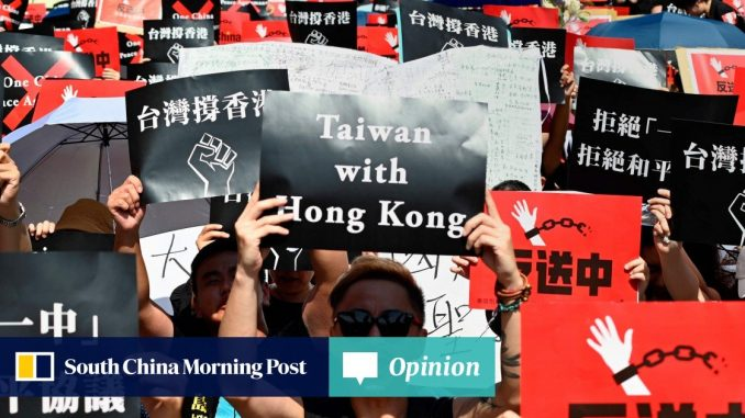 Why does Taiwan treat fleeing Hong Kong activists as illegal immigrants after inciting them? - South China Morning Post