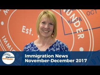 Australian Immigration News - November 2017