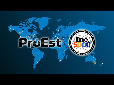 ProEst Wins Recognition as Prestigious INC 5000 Honoree