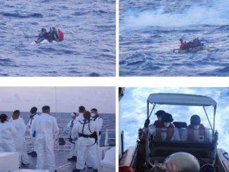 US Coast Guard interdicts five Cuban migrants