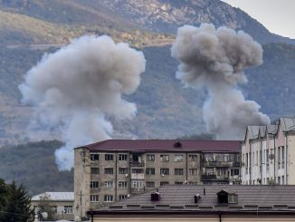 Azerbaijani missiles hit Karabakh capital ahead of cease-fire - Arab News