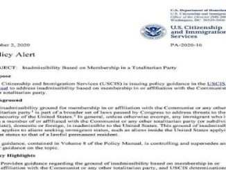 Don't want communists:USDepartment of Homeland Security
