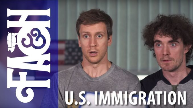 U.S Immigration - Foil Arms and Hog