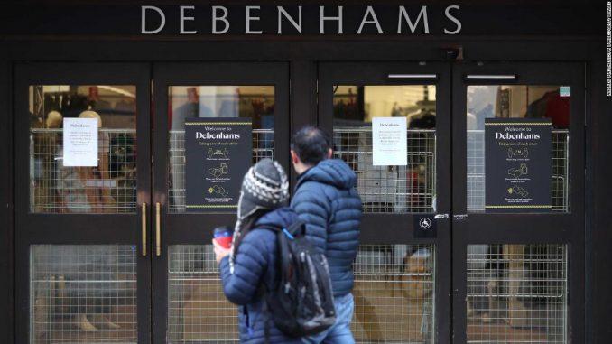 Debenhams closure and Arcadia collapse put 25,000 UK retail jobs at risk