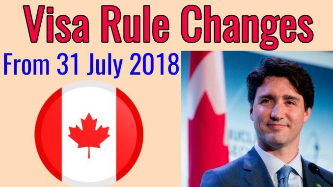 Major Changes In Canada Visa Rules - Canada Visa PR/Study/Work/Visit - Hindi/Urdu/Punjabi