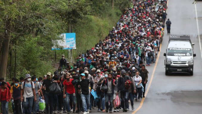 Migrant Caravan, Now in Guatemala, Tests Regional Resolve to Control Migration