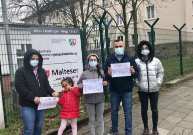 Maher's story: Stuck in a German bureaucratic maze